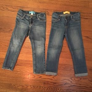 Lot of Old Navy Toddler Girl Jeans - Size 4T
